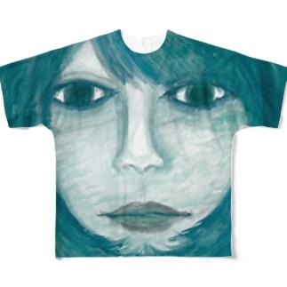 森の奥 フルグラフィックTシャツ