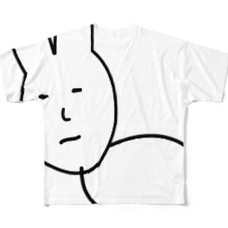 うさぎたん Full graphic T-shirts