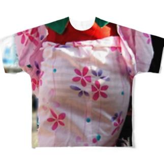 【3次元】着衣尻画像スレ カナ速 Full graphic T-shirts