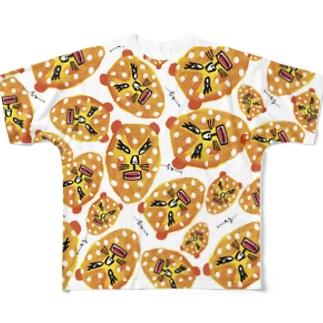 ひょう Full graphic T-shirts