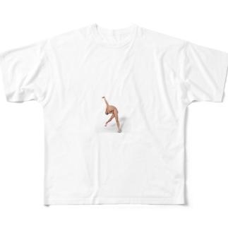当選 Full graphic T-shirts