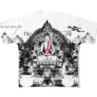bong フルグラフィックTシャツ