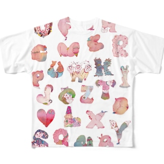 ABCmonsters Full graphic T-shirts