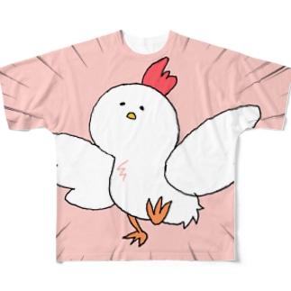 絶対に飛んでみせるんだから Full graphic T-shirts