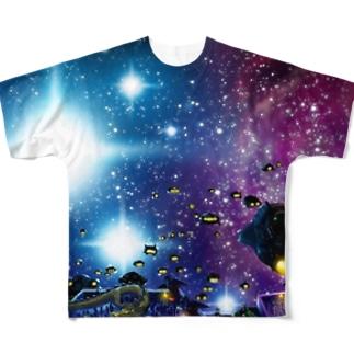 宇宙大元帥 Full graphic T-shirts