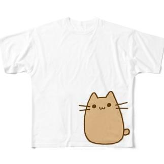 猫太さん Full graphic T-shirts