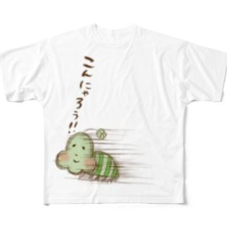 たんたんのこんにゃろうTシャツ フルグラフィックTシャツ