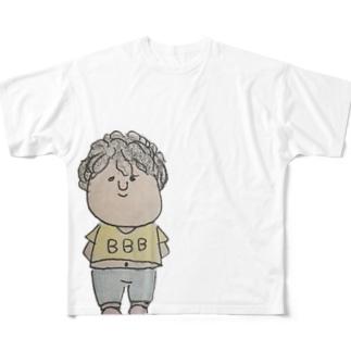 へいちゃん Full graphic T-shirts