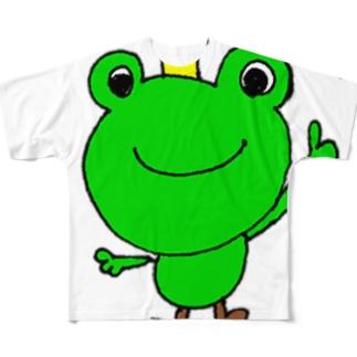 おぐちゃんねるのカエルちゃん1 フルグラフィックTシャツ