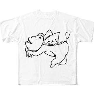 たぶんこんなやつ フルグラフィックTシャツ