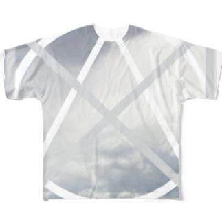 CLOUD フルグラフィックTシャツ