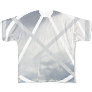 GAKU style のCLOUD Full graphic T-shirts