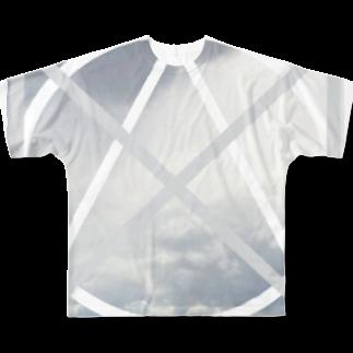 GAKU style のCLOUD Full graphic T-shirts