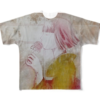 待ち遠しいのは Full graphic T-shirts