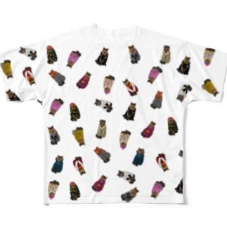 Ai-chan's Fashion Show Full graphic T-shirts