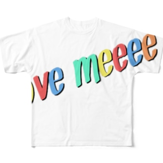 ラブ Full graphic T-shirts