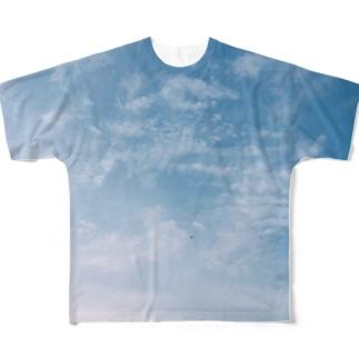 秋の空 Full graphic T-shirts
