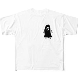 ノロイのカオナシ Full graphic T-shirts