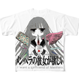 girl friend.2 フルグラフィックTシャツ