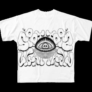 SPOTLIGHTのSPOTLIGHTフルグラフィックTシャツ