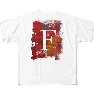 ふじさわブログロゴアイテム's フルグラフィックTシャツ