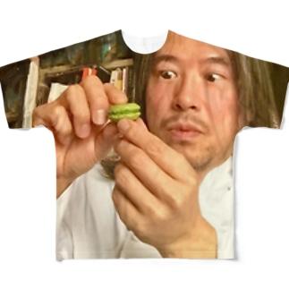 マカロン星人Tシャツ Full graphic T-shirts