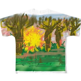 マダガスカル フルグラフィックTシャツ