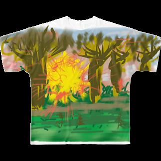 Eureka.Sのマダガスカル Full graphic T-shirts