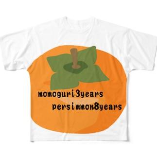 かっきー Full graphic T-shirts