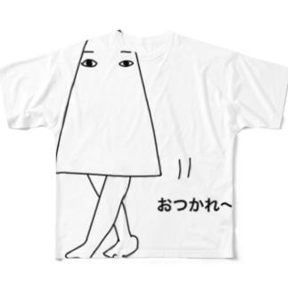 世界最古のゆるキャラ?メジェド様 Full graphic T-shirts