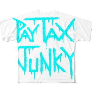 PayTaxJunky2 Full graphic T-shirts