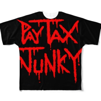 PayTaxJunky3 Full graphic T-shirts