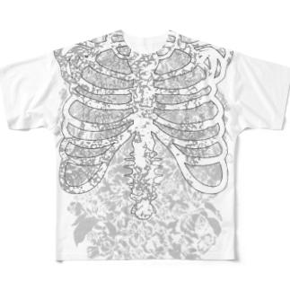 1991 2 フルグラフィックTシャツ