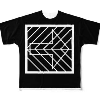 resist B Full graphic T-shirts