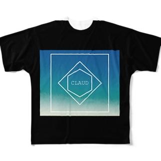 C L A U D Full graphic T-shirts