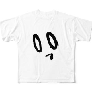ぼやーくん Full graphic T-shirts