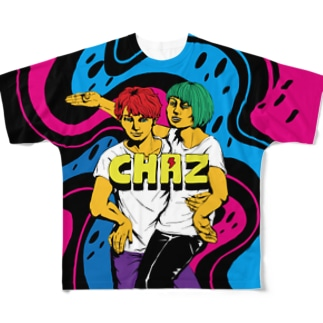 CHAZ Full graphic T-shirts