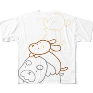 ブレーメン Full graphic T-shirts