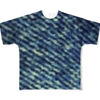 デニム フルグラフィックTシャツ