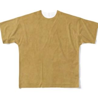 ダンボール柄 フルグラフィックTシャツ