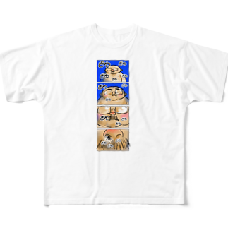 小田ロケット/odaRocketのオノマトペイント No.002「ざわざわざわ」フルグラフィックTシャツ