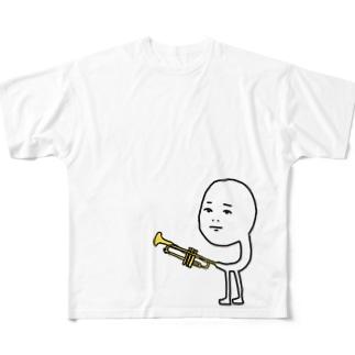 名の無いトランペッター Full graphic T-shirts