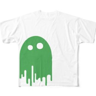 みているぞ みどり フルグラフィックTシャツ