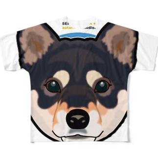Kuroshiba-001 Full graphic T-shirts