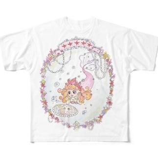 あぶくひめシリーズ フルグラフィックTシャツ