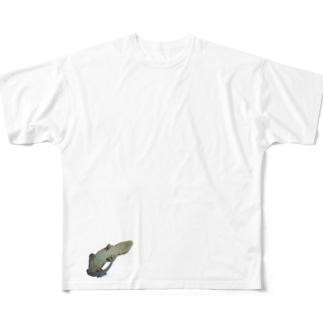 げっこーかみん。 Full graphic T-shirts