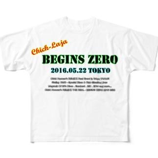 Chick-Laja TOKYO 2016 フルグラフィックTシャツ