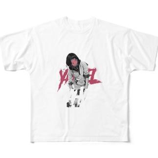 yahyel フルグラフィックTシャツ