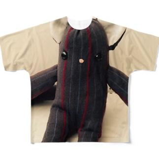 ロシアンブルコ フルグラフィックTシャツ