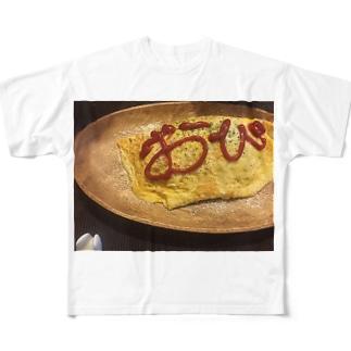 おびらいす。 フルグラフィックTシャツ